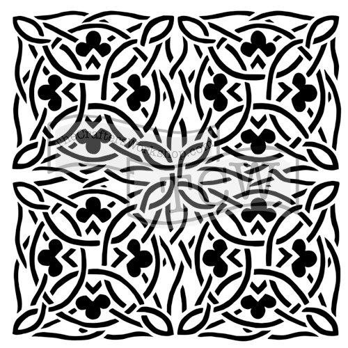 The Crafter's Workshop - 12 x 12 Doodling Templates - Celtic Design
