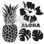 The Crafter's Workshop - 12 x 12 Doodling Templates - Aloha
