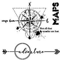 The Crafter's Workshop - 6 x 6 Stencils - Wanderlust