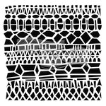 The Crafter's Workshop - 6 x 6 Doodling Templates - Modern Lace