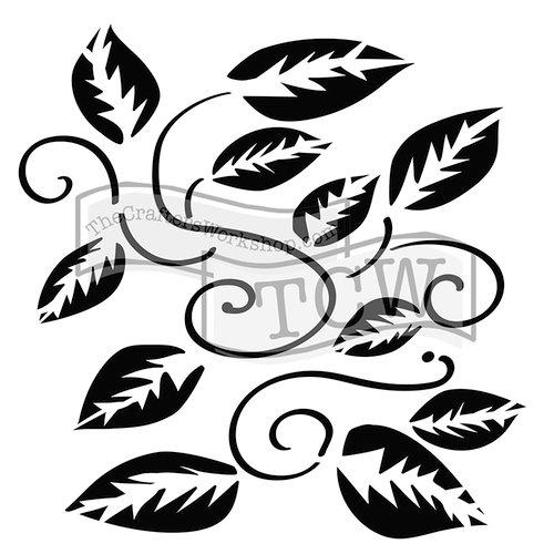 The Crafter's Workshop - 6 x 6 Doodling Templates - Tangled Vine