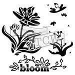The Crafter's Workshop - 12 x 12 Doodling Templates - Layered Bloom
