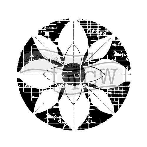 The Crafter's Workshop - 6 x 6 Doodling Templates - Flower Grid