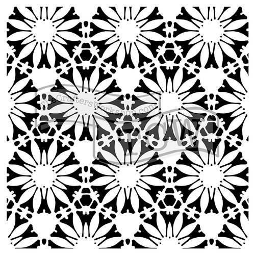 The Crafter's Workshop - 12 x 12 Doodling Templates - Tuscan Floral