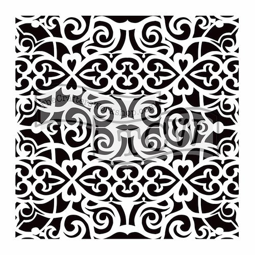 The Crafter's Workshop - 12 x 12 Doodling Templates - Scrollwork