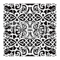 The Crafter's Workshop - 6 x 6 Doodling Templates - Scrollwork