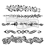 The Crafter's Workshop - 6 x 6 Doodling Templates - Ornate Borders