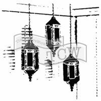 The Crafter's Workshop - 6 x 6 Doodling Templates - Exotic Lamps