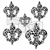The Crafter's Workshop - 6 x 6 Doodling Templates - Baroque Fleurs