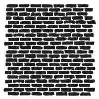 The Crafter's Workshop - 6 x 6 Stencils - Micro Bricks