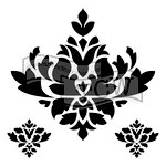 The Crafter's Workshop - 6 x 6 Doodling Templates - Brocade Decor