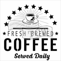 The Crafter's Workshop - 12 x 12 Doodling Templates - Fresh Coffee