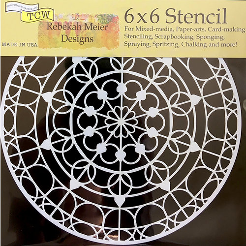 The Crafter's Workshop - 6 x 6 Doodling Templates - Skylight