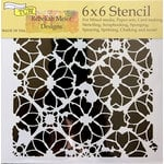 TCW Distressed Lace Stencil
