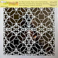 The Crafter's Workshop - 12 x 12 Doodling Templates - Spanish Tile