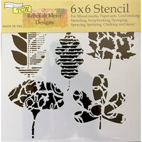 The Crafter's Workshop - 6 x 6 Doodling Templates - Leaf Collection