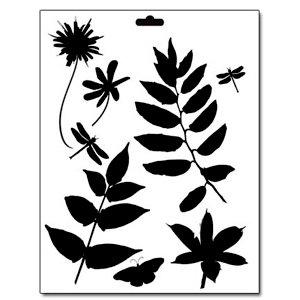 The Crafter's Workshop - 8.5 x 11 Doodling Templates - Botanicals