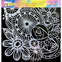 The Crafter's Workshop - 12 x 12 Doodling Templates - Blooming Garden