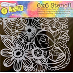 The Crafter's Workshop - 6 x 6 Doodling Templates - Blooming Garden