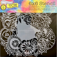 The Crafter's Workshop - 6 x 6 Doodling Templates - Floral Statement