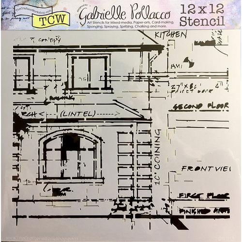The Crafter's Workshop - 12 x 12 Doodling Templates - Blueprint