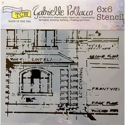 The Crafter's Workshop - 6 x 6 Doodling Templates - Blueprint