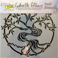 The Crafter's Workshop - 6 x 6 Doodling Templates - Mystical Tree