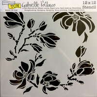 The Crafter's Workshop - 12 x 12 Doodling Templates - Magnolia Blossoms