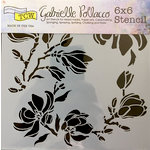 The Crafter's Workshop - 6 x 6 Doodling Templates - Magnolia Blossoms