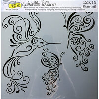 The Crafter's Workshop - 12 x 12 Doodling Templates - Bird and Butterflies