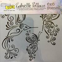 The Crafter's Workshop - 6 x 6 Doodling Templates - Bird and Butterflies