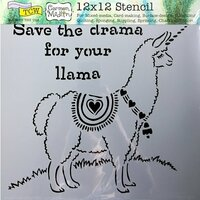 The Crafter's Workshop - 12 x 12 Doodling Templates - Drama Llama