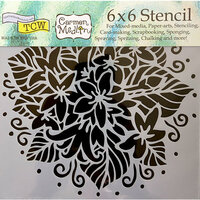 The Crafter's Workshop - 6 x 6 Doodling Templates - Jasmine Spray