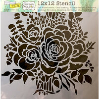 The Crafter's Workshop - 12 x 12 Doodling Templates - Rose Bouquet