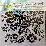 The Crafter's Workshop - 6 x 6 Doodling Templates - Growing Wild