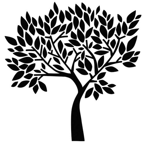 The Crafter's Workshop - 6 x 6 Doodling Templates - Faithful Tree