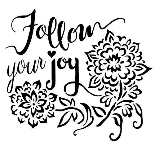 The Crafter's Workshop - 6 x 6 Doodling Templates - Follow Joy