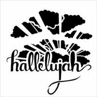 The Crafter's Workshop - 12 x 12 Doodling Templates - Hallelujah