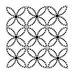 The Crafter's Workshop - 12 x 12 Doodling Templates - Dotted Rings