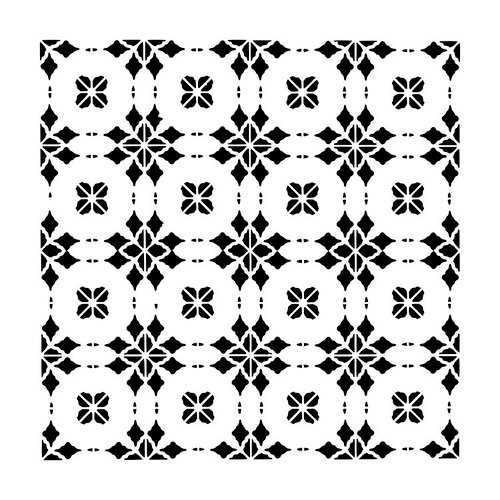 The Crafter's Workshop - 12 x 12 Doodling Templates - Circle Tiles