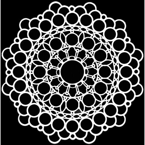 The Crafter's Workshop - 6 x 6 Doodling Templates - Orb Mandala