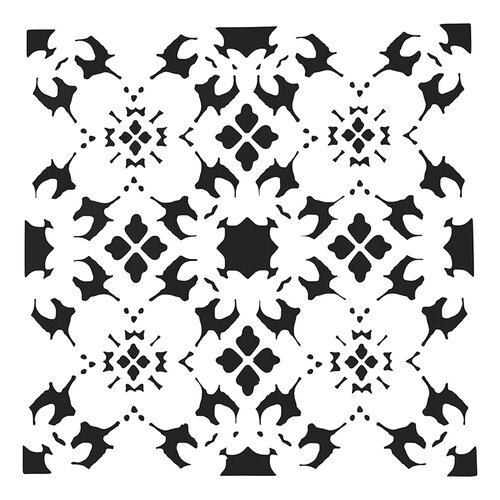The Crafter's Workshop - 12 x 12 Doodling Templates - Poppy Grid