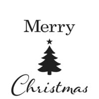 The Crafter's Workshop - Christmas - 12 x 12 Doodling Templates - Merry Tree