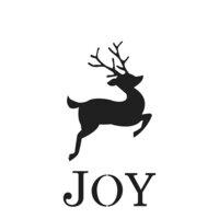 The Crafter's Workshop - Christmas - 12 x 12 Doodling Templates - Reindeer Joy