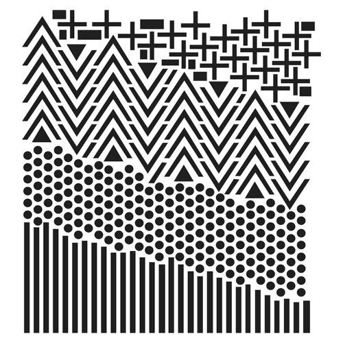 The Crafter's Workshop - 12 x 12 Stencil - Shape Landscape