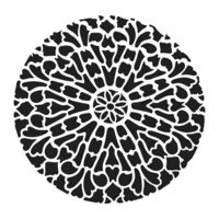 The Crafter's Workshop - 12 x 12 Stencil - Old Circle Grate
