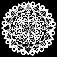 The Crafter's Workshop - 6 x 6 Stencil - Striped Mandala