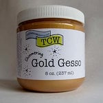 The Crafters Workshop - Gesso - Gold - 8 Ounces