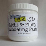 The Crafters Workshop - Modeling Paste - Light and Fluffy - 8 Ounces