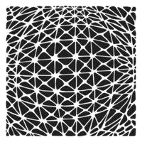 The Crafter's Workshop - 6 x 6 Stencil - Geo Netting